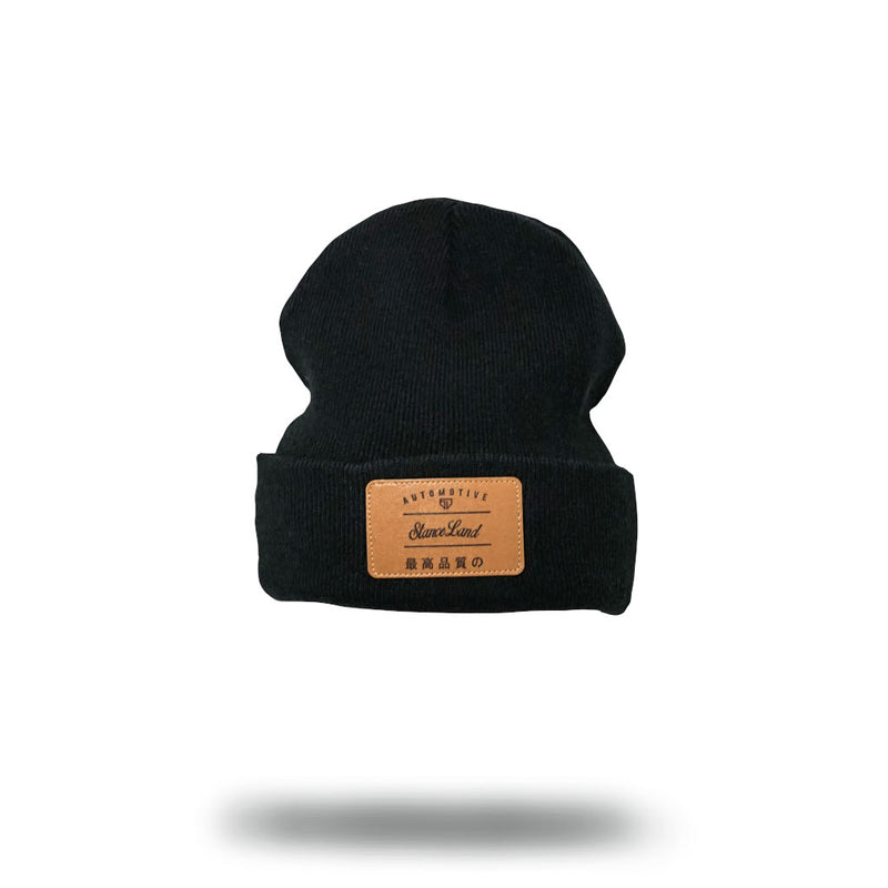 WORLDWIDE BEANIE BLACK