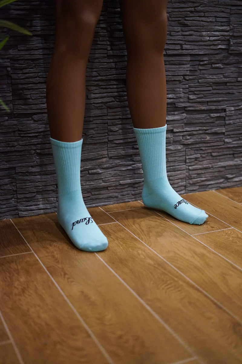 STANCELAND SOCKS MINT MILK