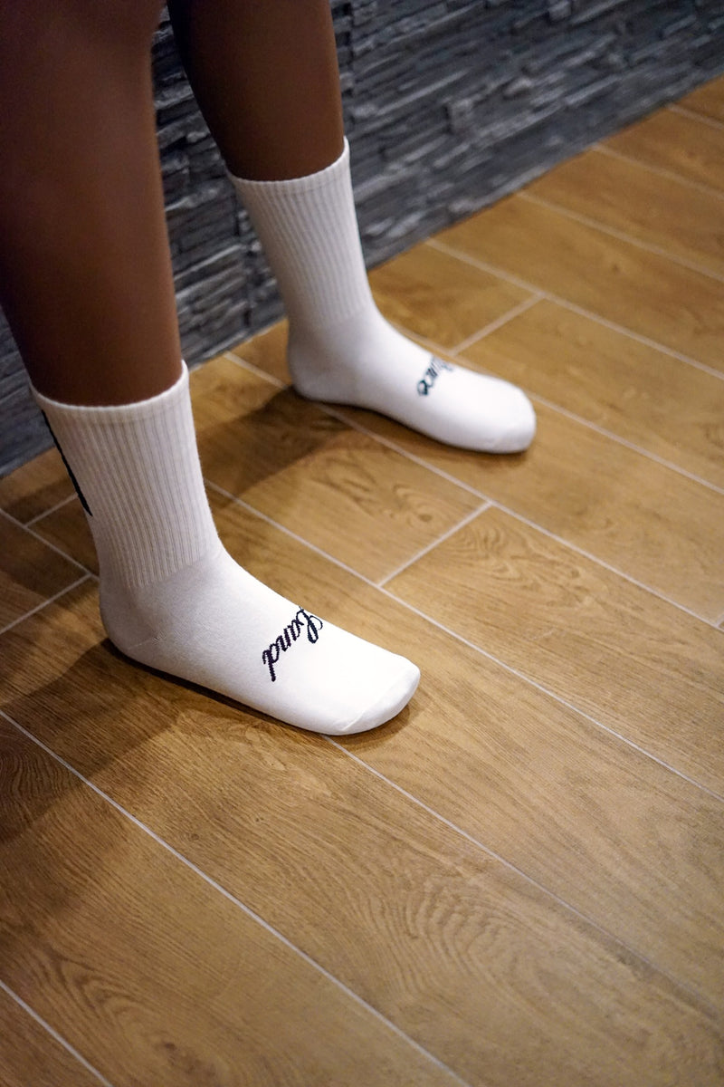 STANCELAND SOCKS WHITE