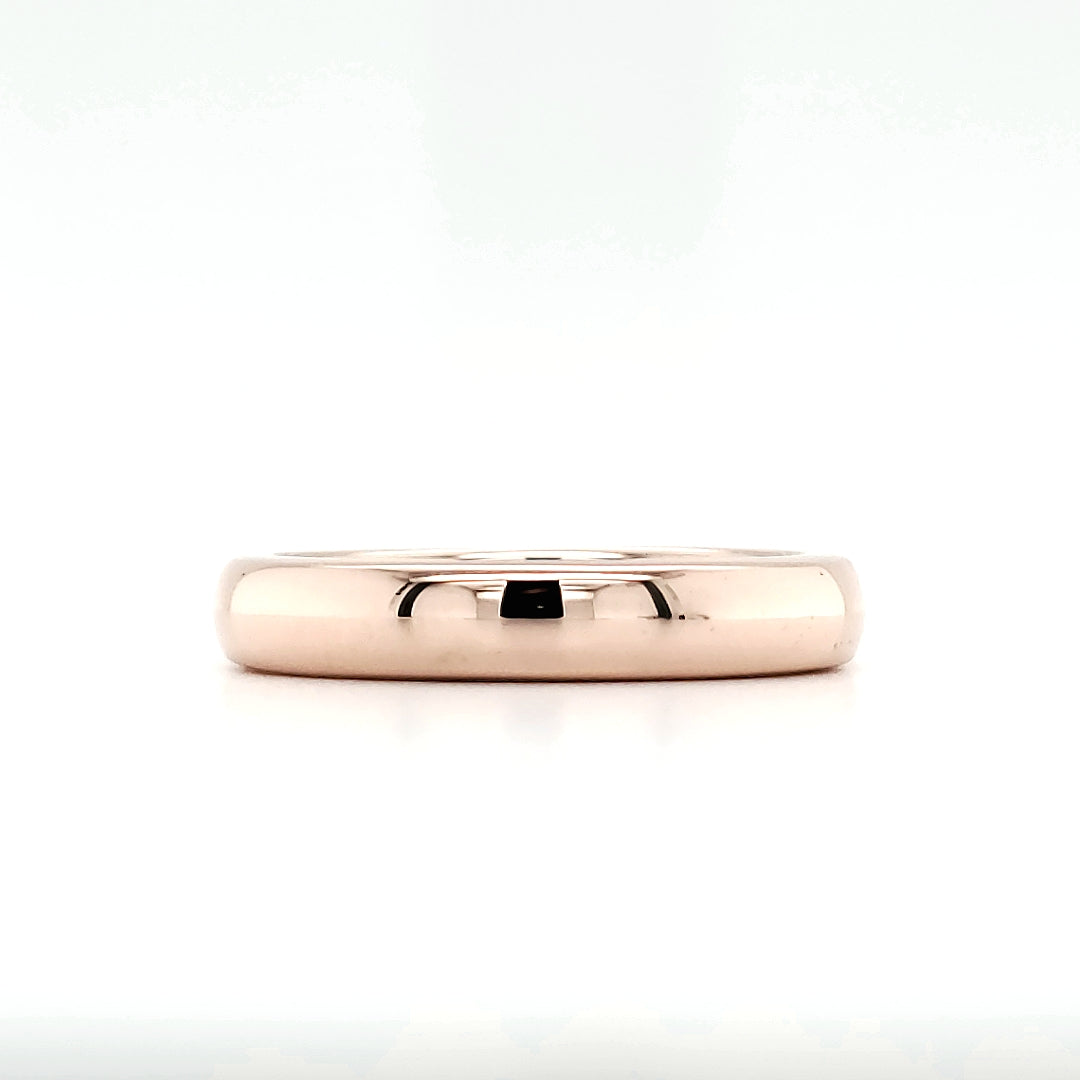 Plain Rose Gold Band (3.9mm)
