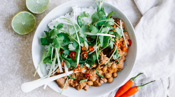 Chickpea Jackfruit Curry