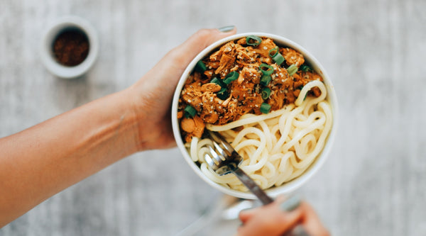 Jackfruit Curry Noodles