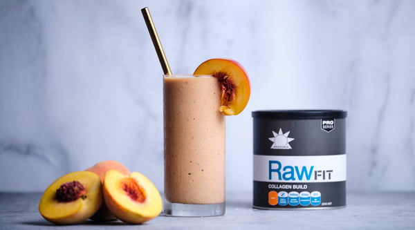Vanilla Peach Protein Smoothie