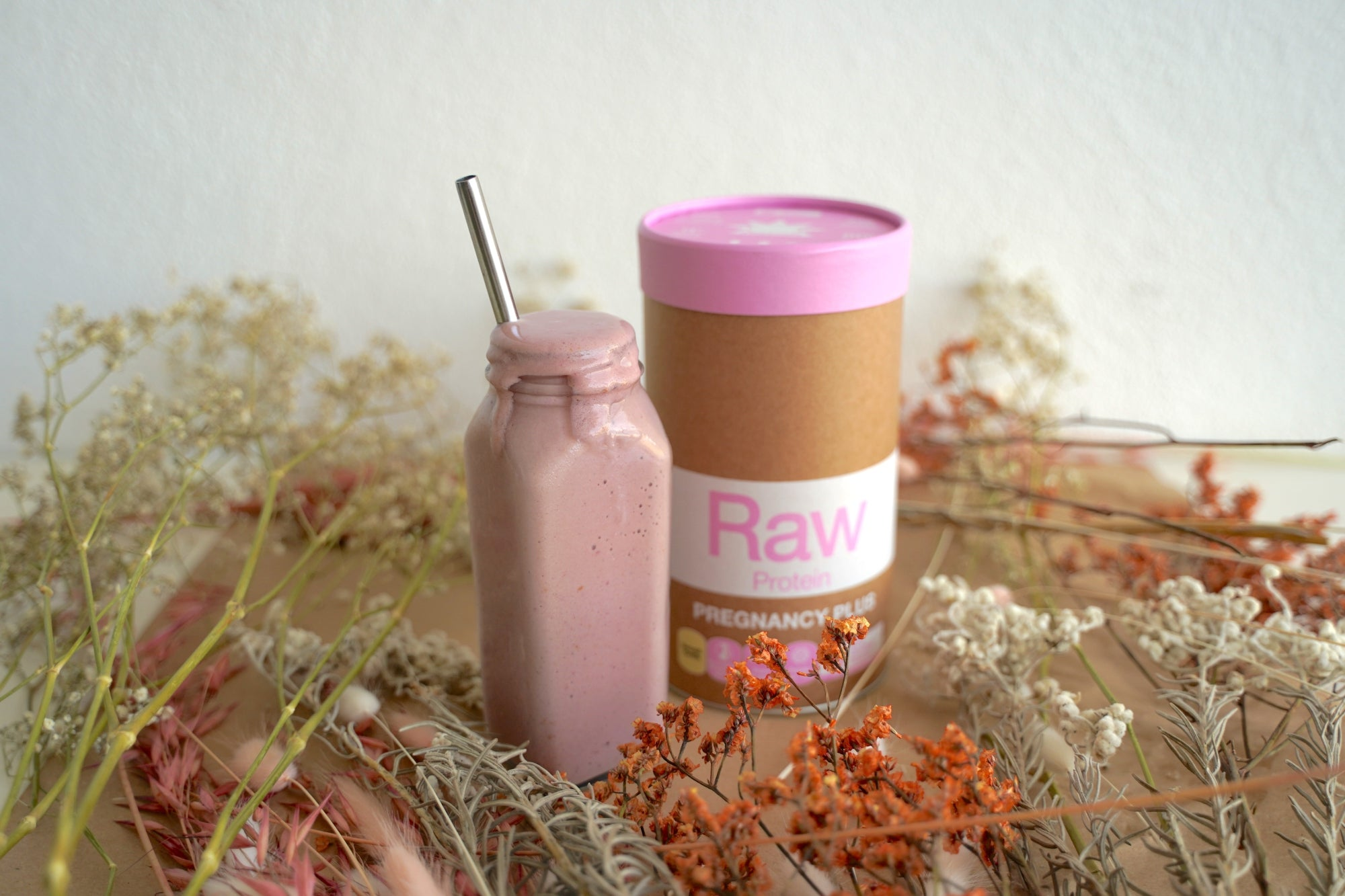 Raw Protein Pregnancy Plus smoothie