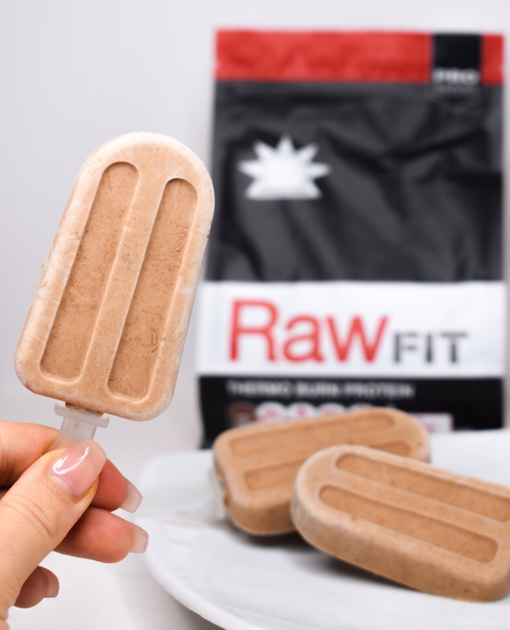 Choc Protein Popsicles