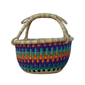 "Market Basket - 10""-Baskets-Jabulani Creations"