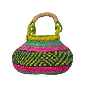 Bolga Pot Basket Very Small