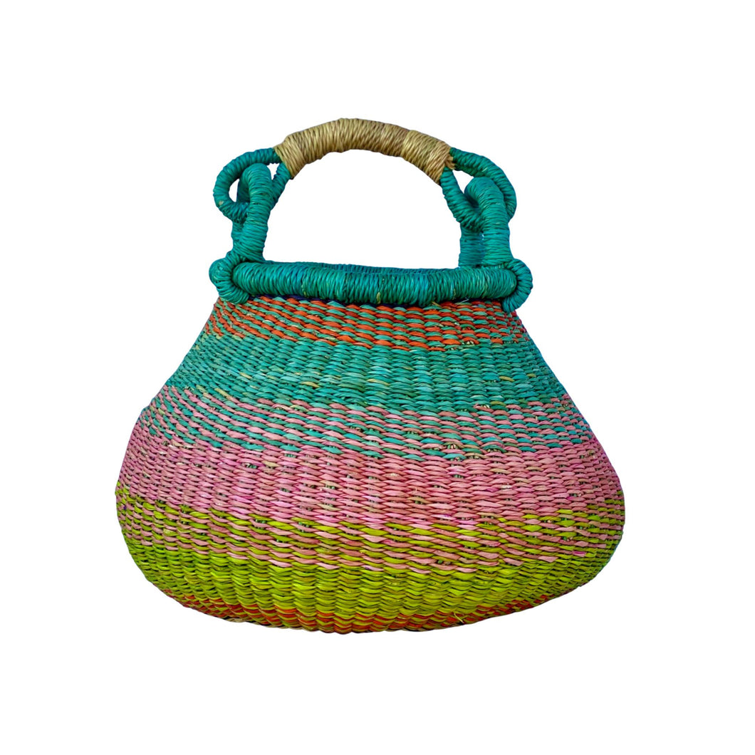 Pot Market Basket - Very Small-Baskets-Jabulani Creations