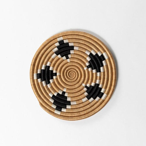 Rwandan Handwoven Trivets-Baskets-Azizi Life-Diamond-Jabulani Creations