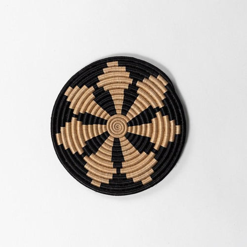 Rwandan Handwoven Trivets-Baskets-Azizi Life-Round Table-Jabulani Creations