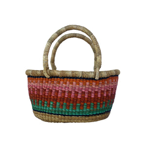 Tiny Oval-Bolga Oval Market Basket-Jabulani Creations