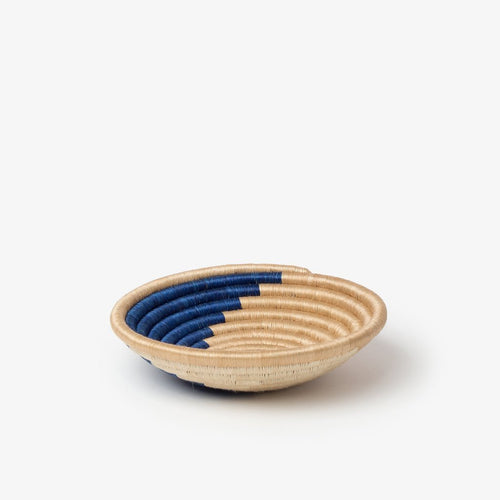 Zera Woven Baskets-Baskets-Azizi Life-Indigo & Tea-Small-Jabulani Creations