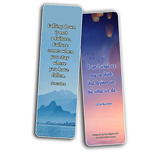 Inspirational Quotes Bookmarks Cards Series 3