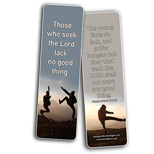 Popular Bible Verses for Teens Bookmarks KJV