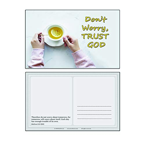 Devotional Bible Verses for Women Postcards (60-Pack) - Multiple Encouraging Postcards