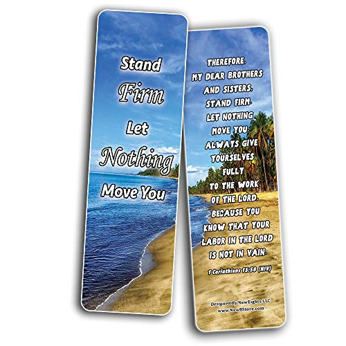 Shows True Obedience To God Memory Verses Bookmarks (30-Pack) - Handy Reminder About How to Show True Obedience To God