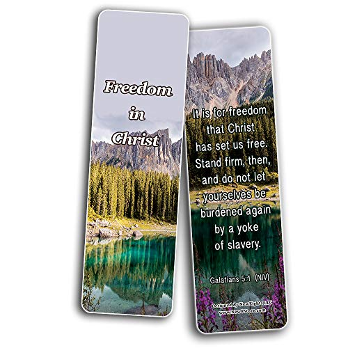 Stand For What Is Right Memory Verses Bookmarks (30-Pack) - Handy Reminder About How to Stand for What is Right