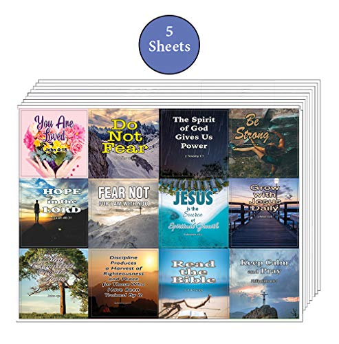 Christian Spiritual Growth Inspirational Stickers