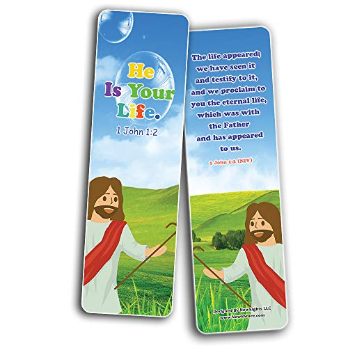 Jesus Throughout the Bible Bookmarks Series 10