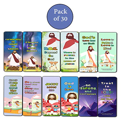 Christian Faith Bookmarks for Kids
