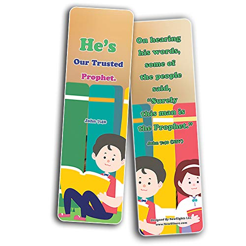 Jesus Throughout the Bible Bookmarks Series 2