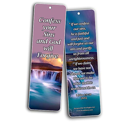 Bible Verses on Learning From Mistakes to Become a Stronger Christian Bookmarks (30 Pack) - Handy Bible Texts About Learning From Mistakes