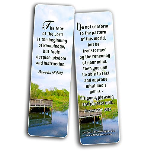 Wisdom Scriptures Cards Bookmarks (12-Pack)