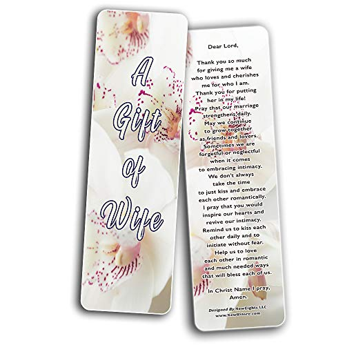 A Prayer for My Wife Bookmarks
