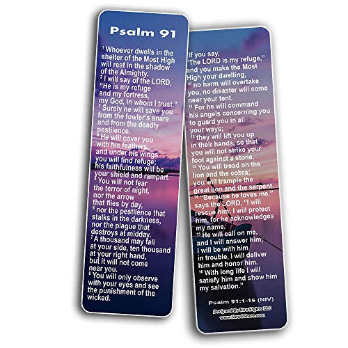 Psalm 91 Bookmarks NIV
