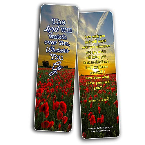Bible Verses About Trusting God Bookmarks