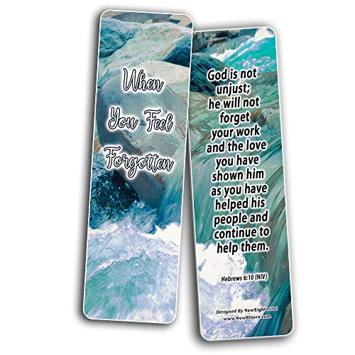 When Your Faith Is Tested Memory Verses Bookmarks (30-Pack) - Handy Reminder About When Your Faith Is Tested