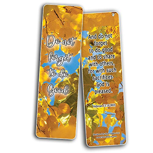 We Make a Difference in Others Memory Verses Bookmarks