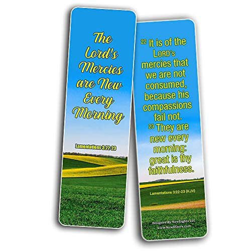 God's Grace is Sufficient KJV Bookmarks (12-Pack)