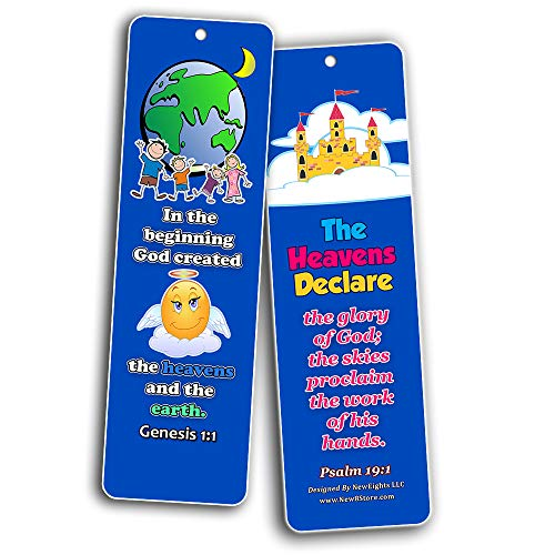 Powerful God Memory Verse Bookmarks (30-Pack) - Handy Memory Verses for Kids Perfect for Children?s Ministries and Sunday Schools