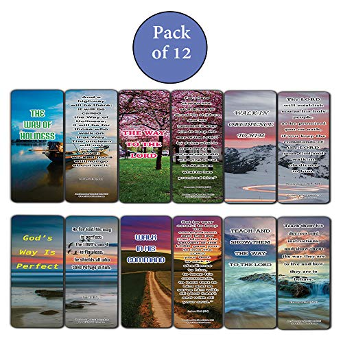 Walking In God's Purpose Bible Bookmarks