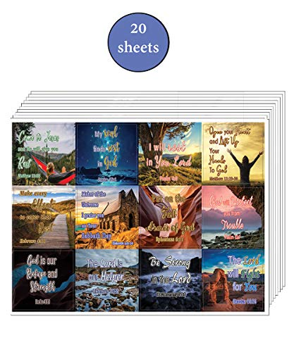 Trust in God's Protection and Renewal (20-Sheet) - Great Giftaway Stickers for Ministries