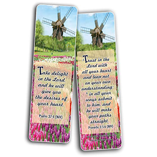 Inspirational Bible Verses Bookmarks (God's Promise)