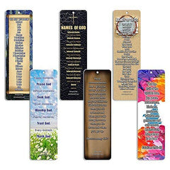 Christian Bookmarks - Books of the Bible Bookmarks