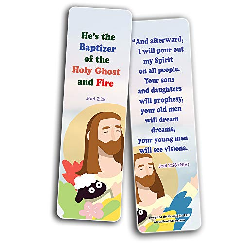 Jesus Throughout the Bible Bookmarks Series 4
