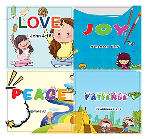 Christian Learning For Kids: Developing Character Stickers