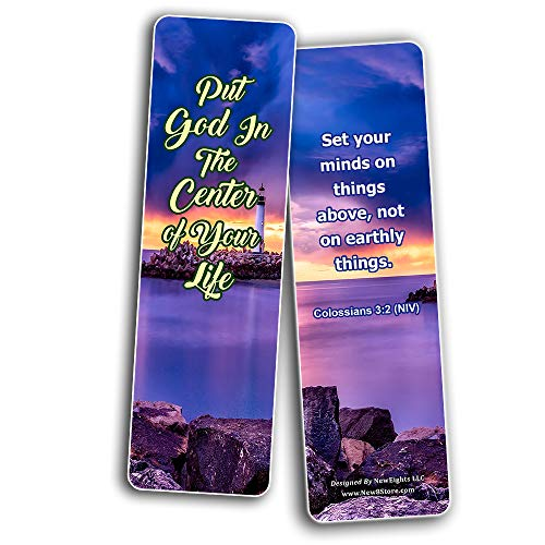 Memory Verse About Your Perspective on Life (60-Pack) - Bible Verses for Motivational Purposes To Change Your Perspective