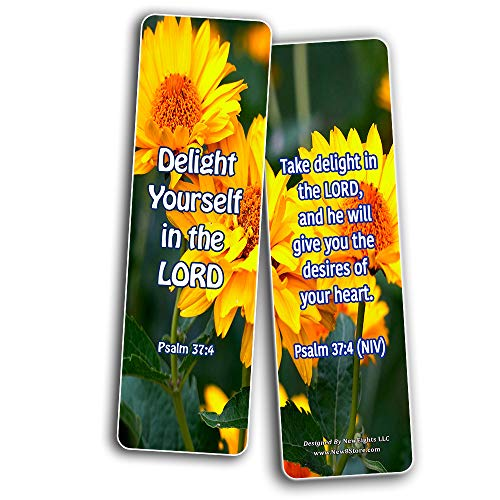 Powerful Bible Verses to boost Your Happiness Bookmarks (60-Pack)