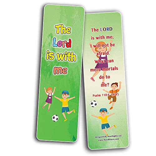Fear Not Memory Verse Bookmarks (12Pack)