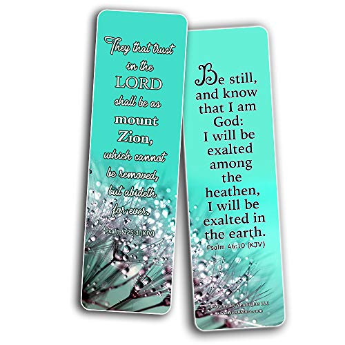 Christian Faith Scripture KJV Bookmarks
