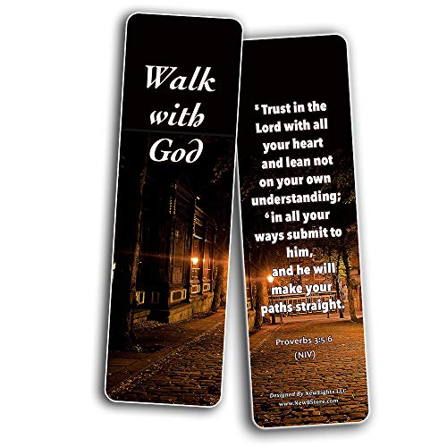 Keys to Knowing God?s Will For Your Life Bookmarks (60 Pack) - Perfect Giftaway for Sunday School and Ministries