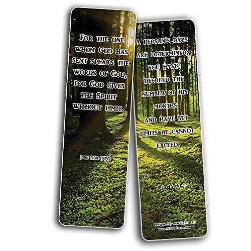 Knowing Your Limitations Bible Bookmarks