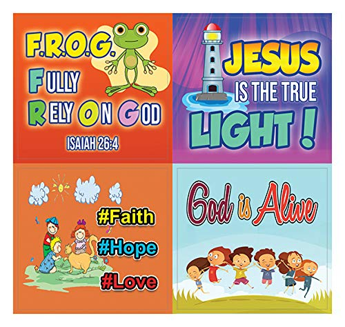 Shine for Jesus Stickers (10-Sheets)