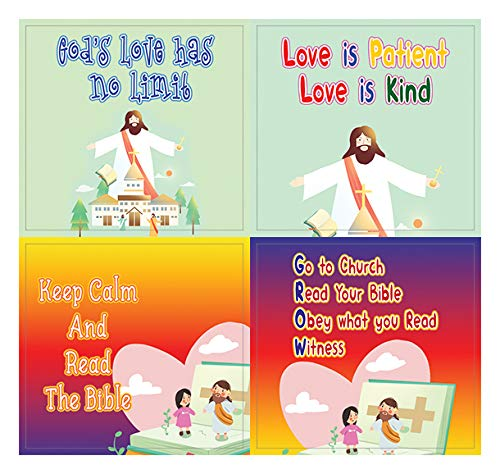 Christian Faith Stickers for Kids