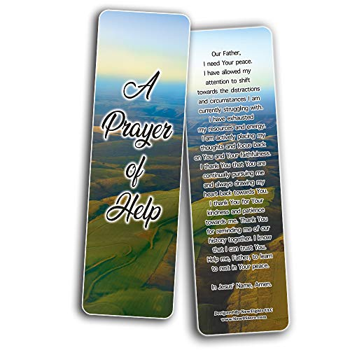 Encouraging Prayers During Difficult Time Bookmarks