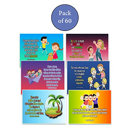 Christian Learning Quotes: Developing Character Postcards (60-Pack)